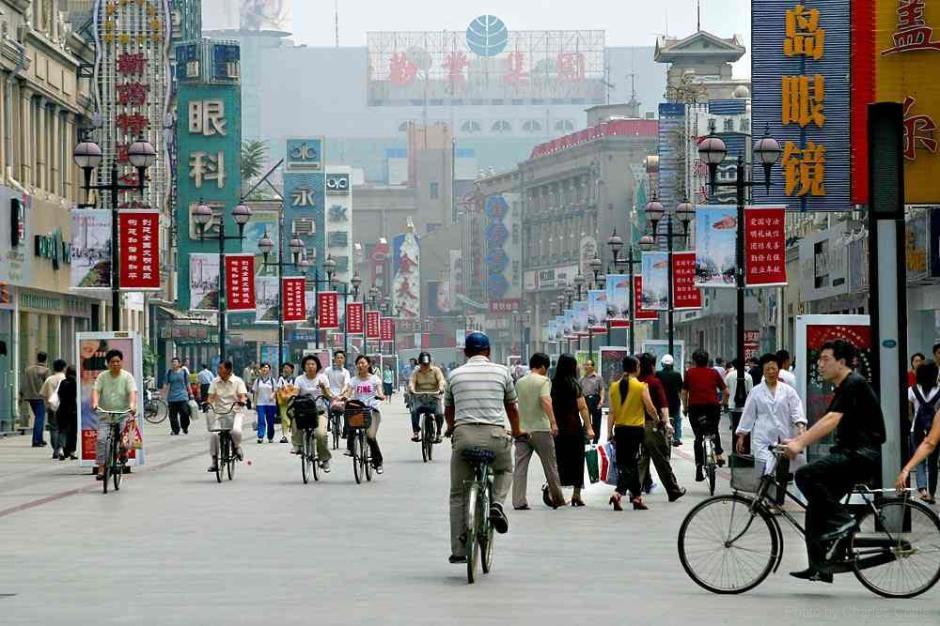 Tianjin Street Scene