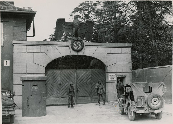 Picking Up a Prisoner at Dachau