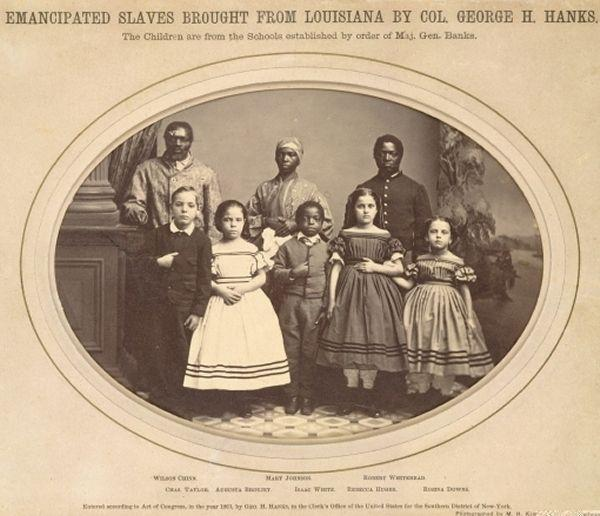 Emancipated Slaves from Louisiana