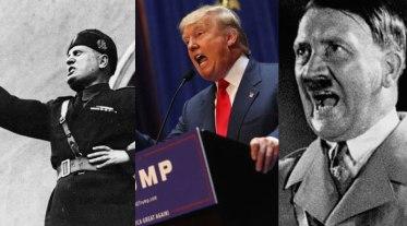 trump-hitler-mussolini-fascism