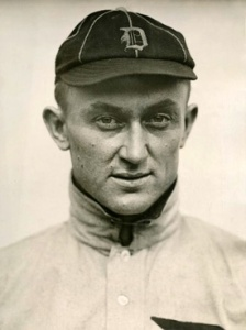 Portrait photo of Ty Cobb 1913