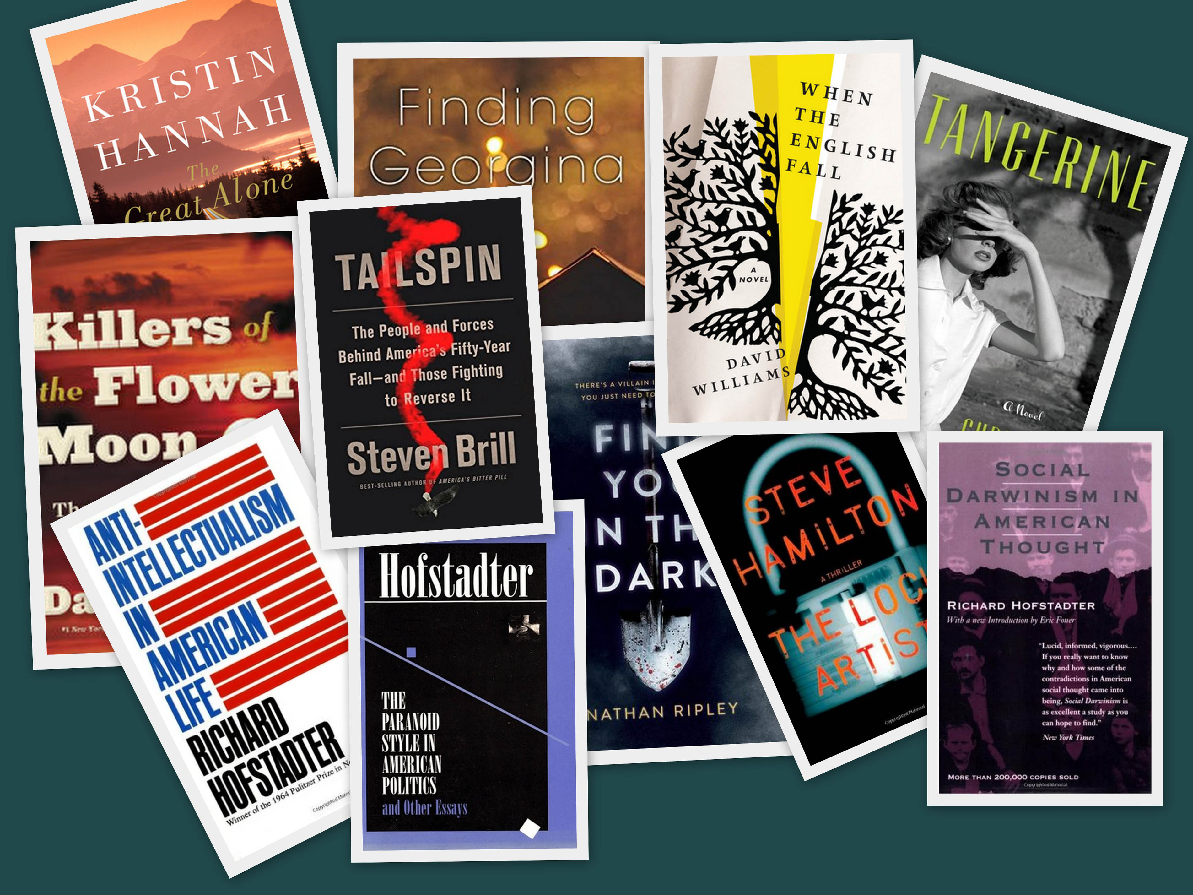 Books Recently Read – Fall 2018 to Fall 2019